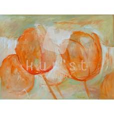 Tulipánok 03 (csendélet festmény)