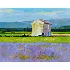 Provence-i tájkép (tájkép festmény)